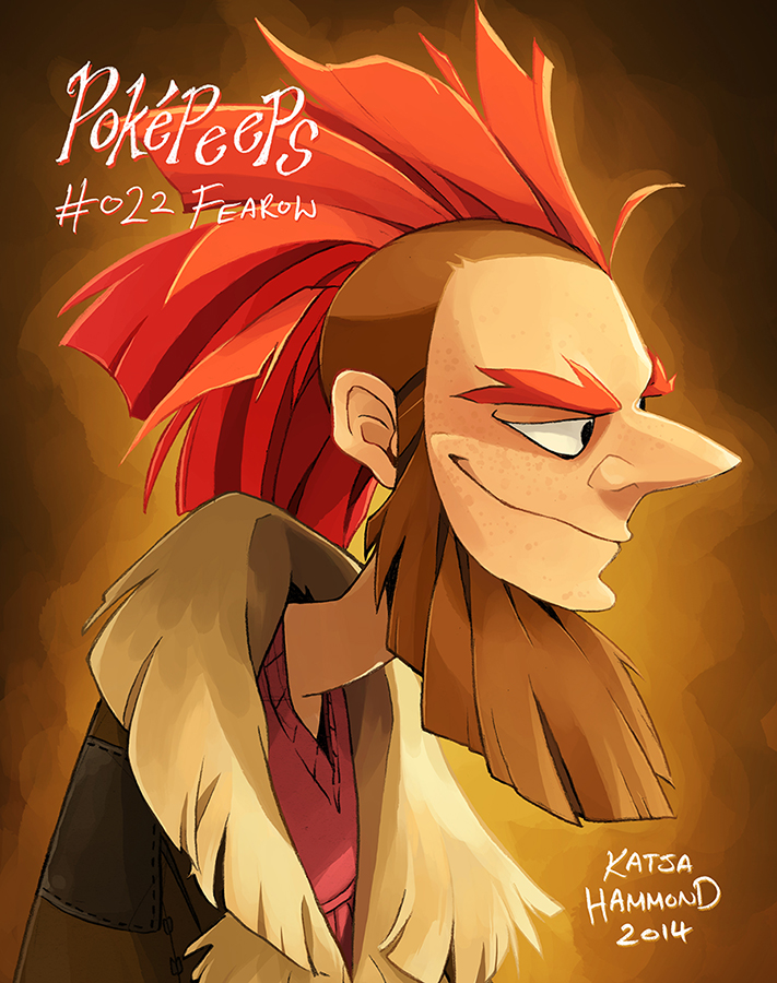 Gijinka Pokemon Fearow Images