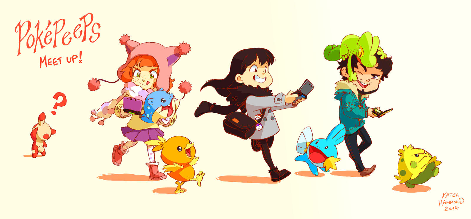Pokepeeps Meetup by MagpieFreak