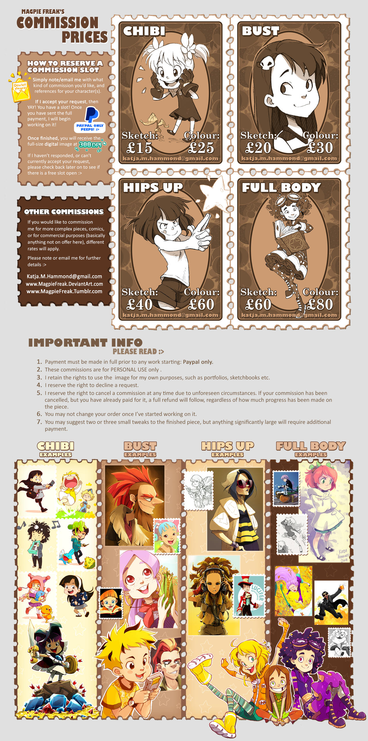 Commission Prices by Jackoburra