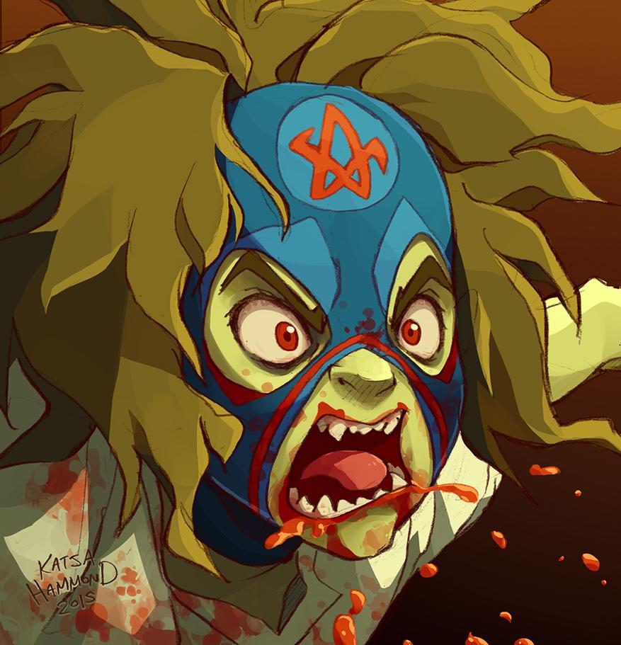 Zombie Janey by Jackoburra