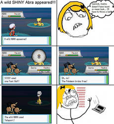 FFFFFUUUUUU shiny Pokemon fail by Klarabw