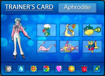 Aphrodite's Trainer Card by Klarabw