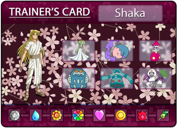 Shaka's Trainer Card by Klarabw