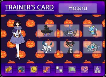 Hotaru's Trainercard by Klarabw