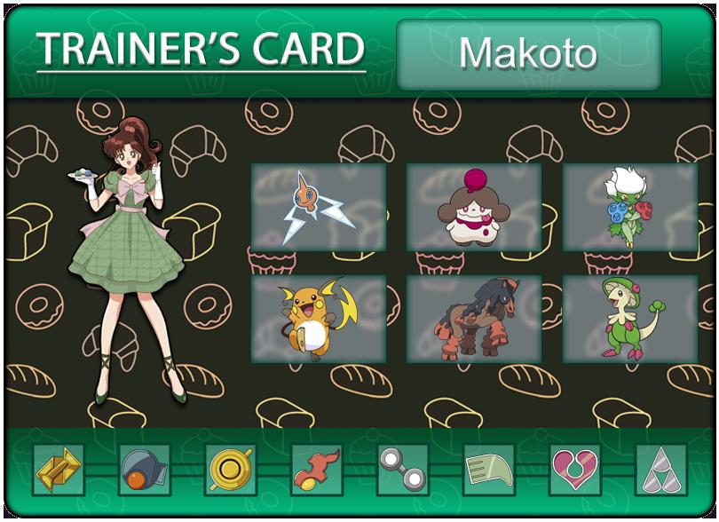 Makoto's Trainercard by Klarabw