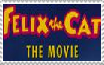 Felix the Cat The Movie Stamp by FelixFan9000