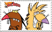 The Angry Beavers Stamp by FelixFan9000