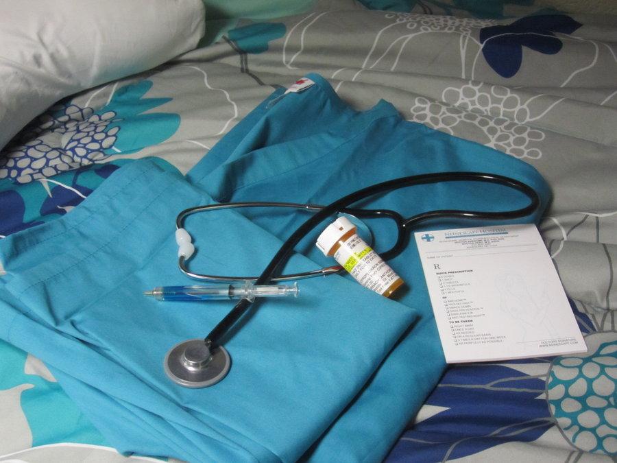 NeinEscape - Proper Nurse Attire for Female staff by Maru-sha