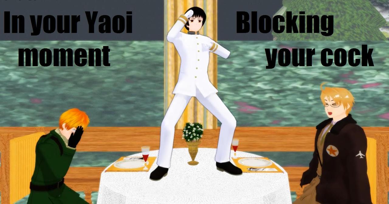 3D yaoi  ... MMD x Hetalia - Ruining Your Yaoi... by Maru-sha