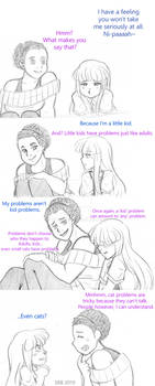 Counseling in 2D: Rika - 'Kid' Problems