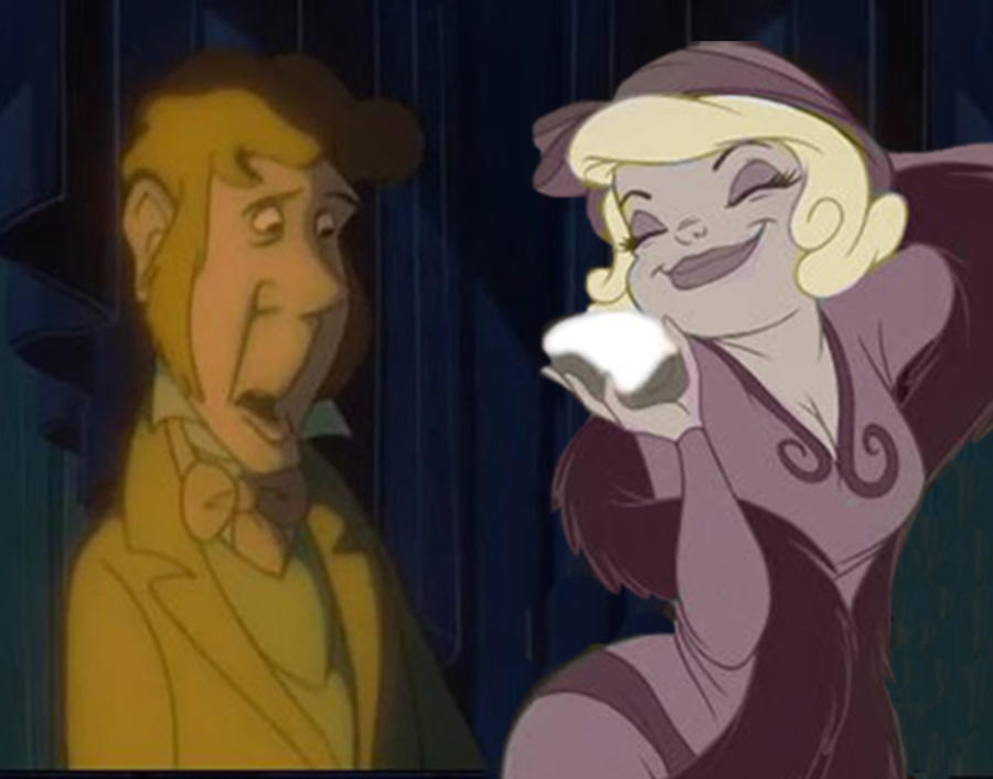 Pagemaster Dr Jekyll: Dr. Jekyll And Lottie By Sws-sisters On DeviantArt