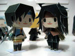 Yuffie and Vincent from FF VII