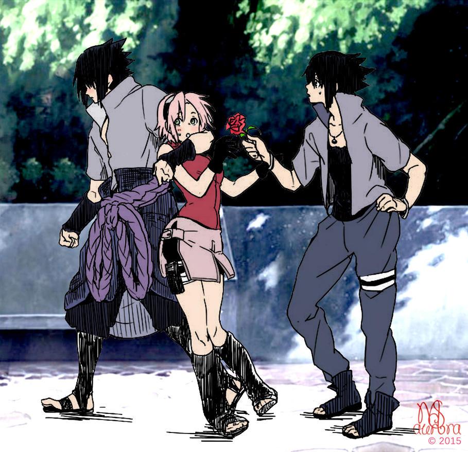 Sasuke uchiha art 5