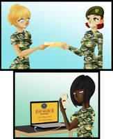 COM Spy and Soldiers Hypno 2 by TigersSunshyn