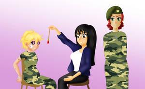 COM Hypnotized soldiers part 5 by TigersSunshyn