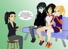 COM Hypno Students by TigersSunshyn