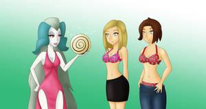 COM Apparitia, Gina and Lynn hypno