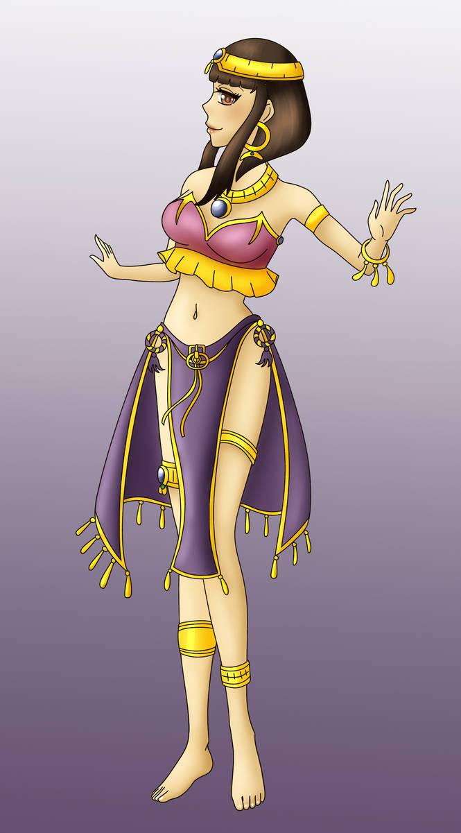 COM Princess from Egyptian tale