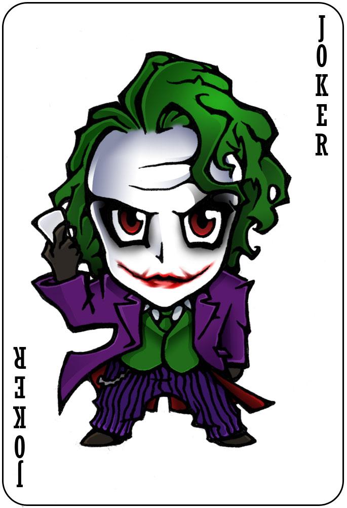 Chibi Joker by nightgrowler