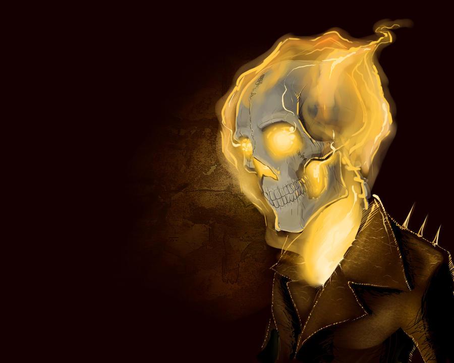Ghost Rider by nightgrowler
