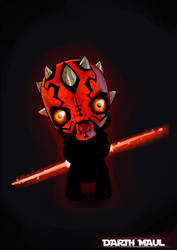 The cutest Darth Maul by nightgrowler