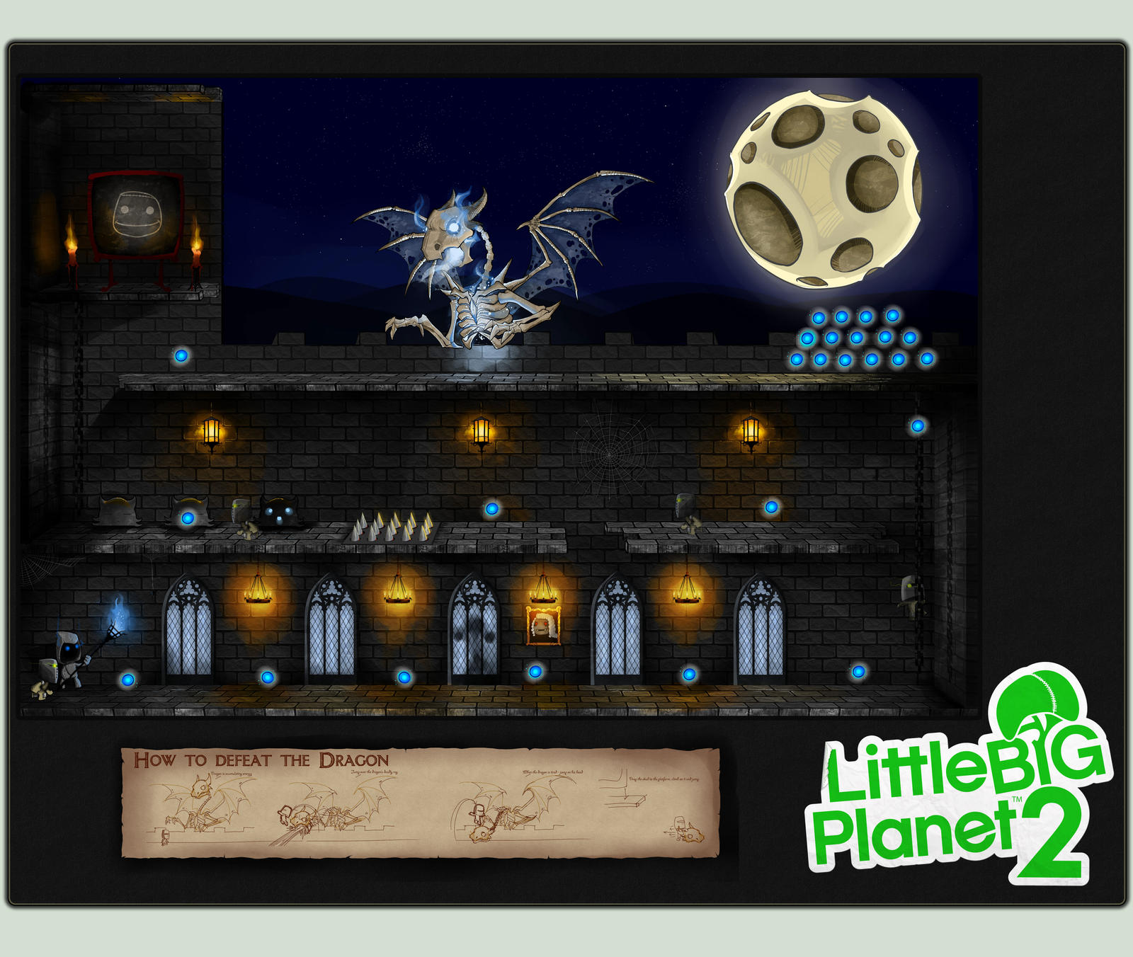 Little Big Dragon Castle by nightgrowler