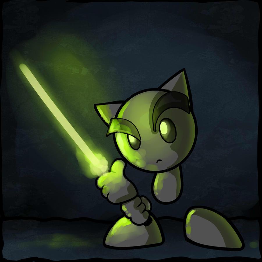 Jedi Fella by nightgrowler
