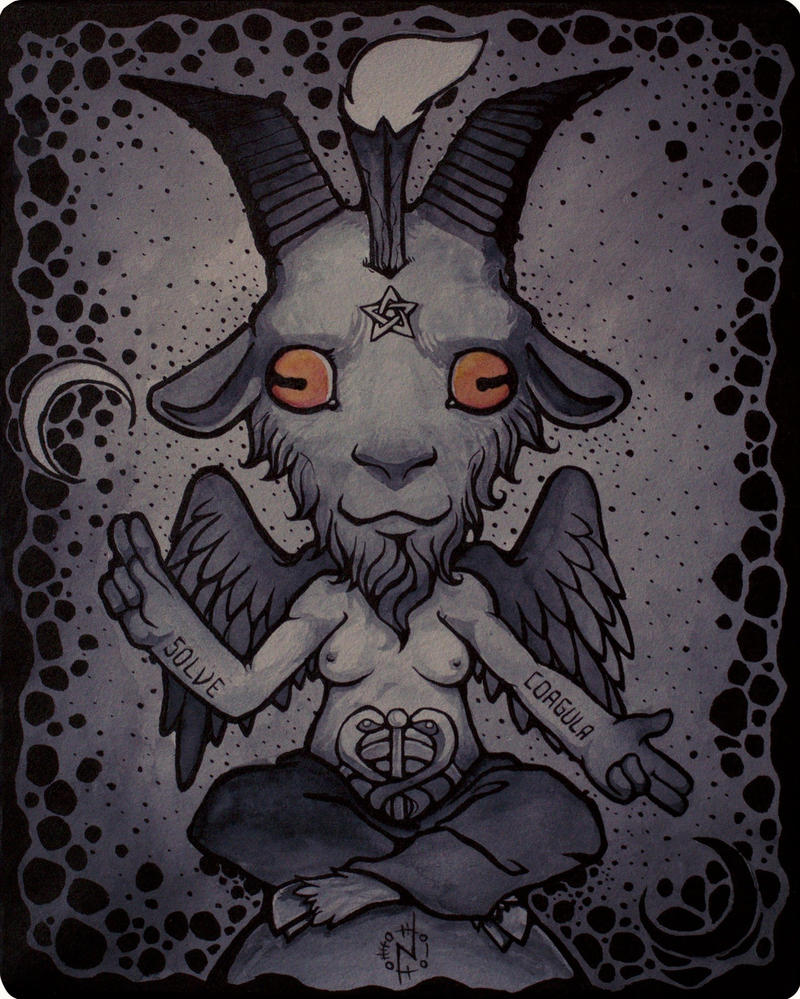 Baphomet by nightgrowler