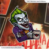 Joker having fun