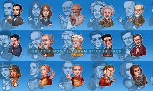 Great Minds Telegram Sticker Pack