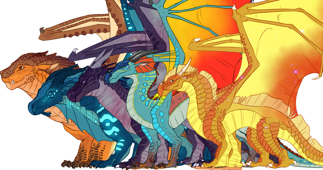 The Dragonets Of Destiny Vs His Majesty S Dragons Wings Of Fire Vs