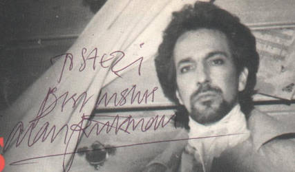 Signed photo by Alan Rickman 4 by JanuaryGuest