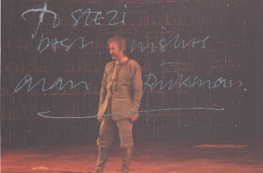 Signed photo by Alan Rickman 7 by JanuaryGuest