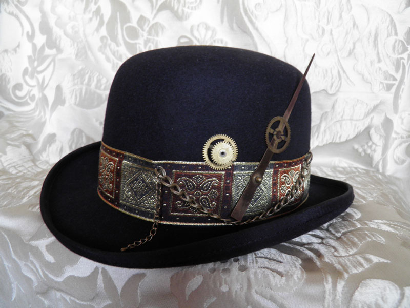 Steampunk bowler PCSH1 by JanuaryGuest