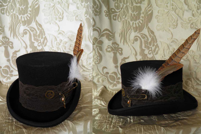 Steampunk-Victorian hat PCSH15 by JanuaryGuest
