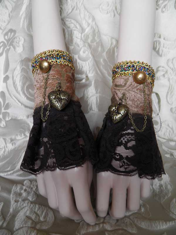 Steampunk cuffs PCCC26 by JanuaryGuest