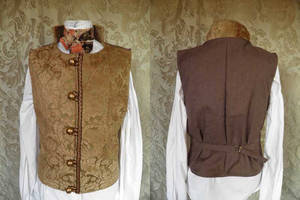 Steampunk inspired waistcoat PCW13-18 by JanuaryGuest