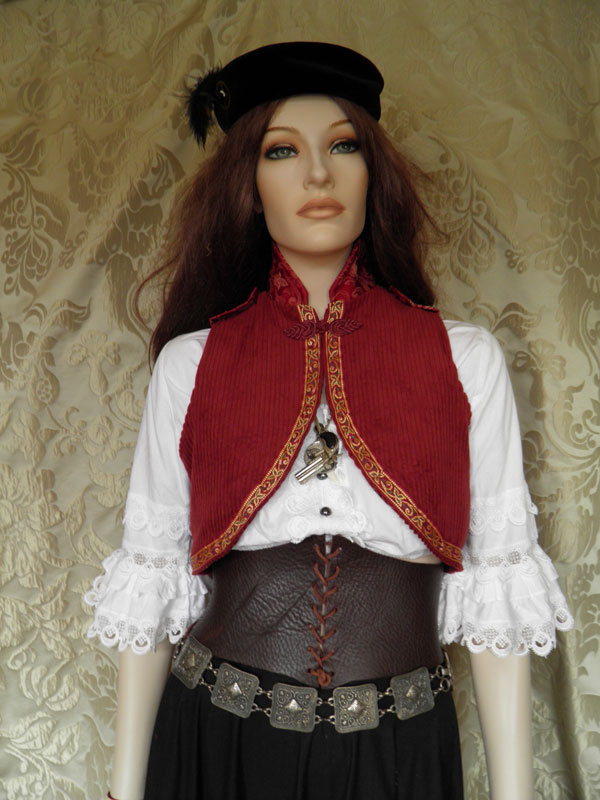 Steampunk-folklore inspired bolero PCCB2-4 by JanuaryGuest
