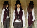 Steampunk-Victorian inspired tailcoat PCT1-1