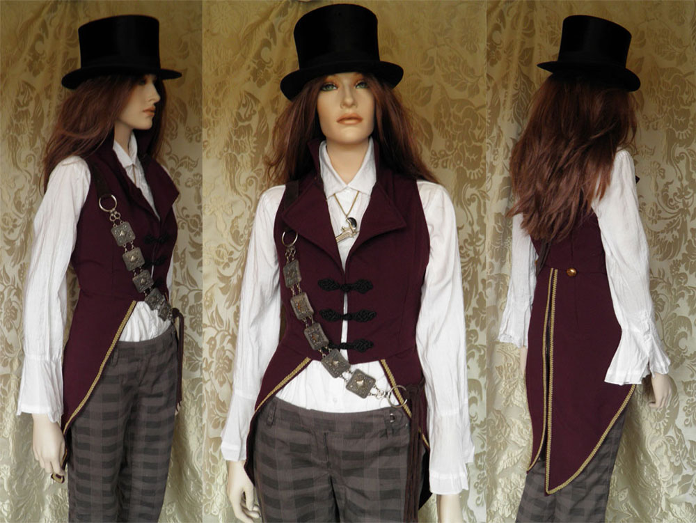 Steampunk-Victorian inspired tailcoat PCT1-1 by JanuaryGuest
