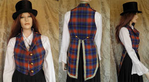 Steampunk-folklore inspired tailcoat PCT2-2