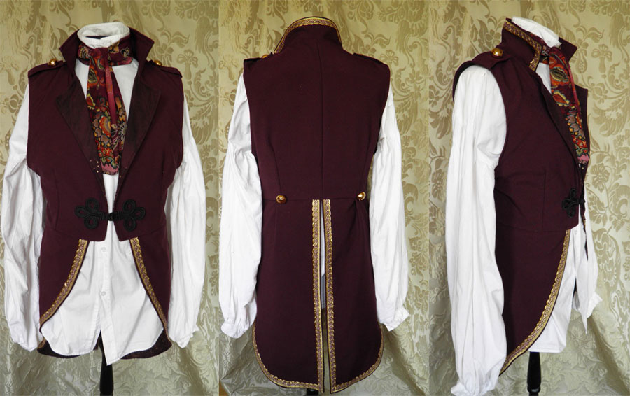 Victorian inspired tailcoat PCT4-1 by JanuaryGuest