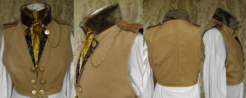 Steampunk-Victorian waistcoat PCW14-8s by JanuaryGuest