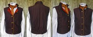 Steampunk inspired waistcoat PCW13-27