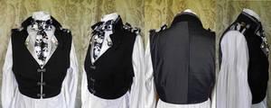 Steampunk inspired waistcoat PCW14-6