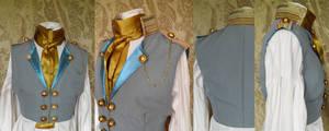 Steampunk inspired waistcoat PCW14-10