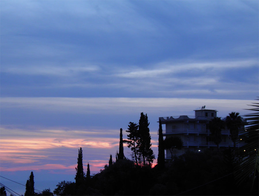 Sunset at Corfu by JanuaryGuest