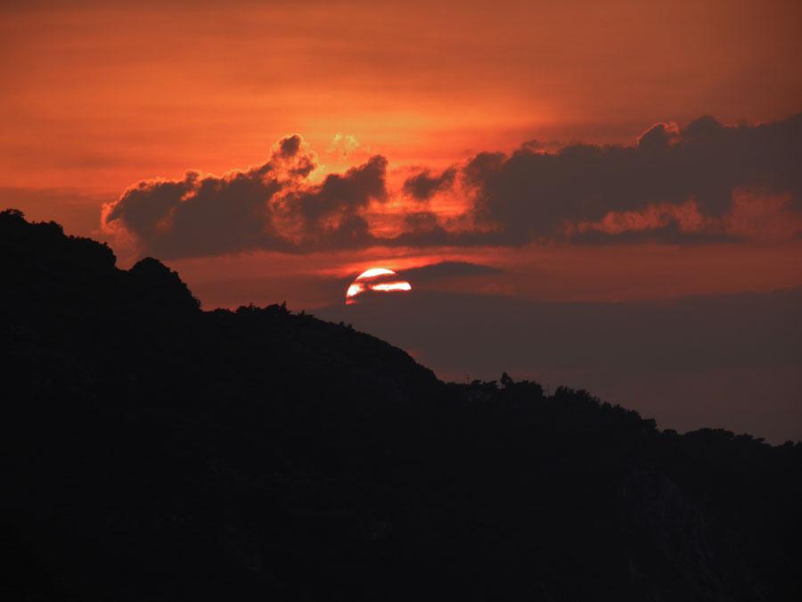 Sunset at Kokari by JanuaryGuest