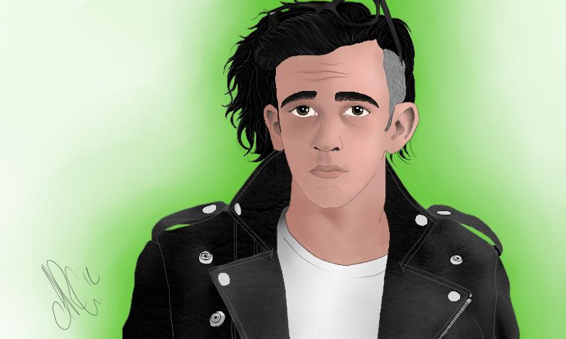 Is Matt Healy S Hair Naturally Curly