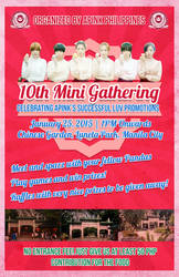 Apink PH 10 Mini Gathering Poster